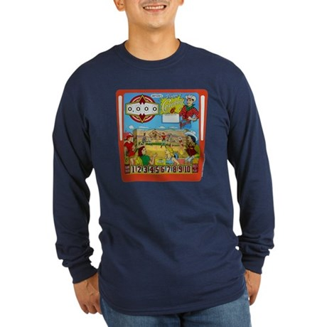 "Gottlieb® ""Flipper Cowboy"" Long Sleeve Dark T-"