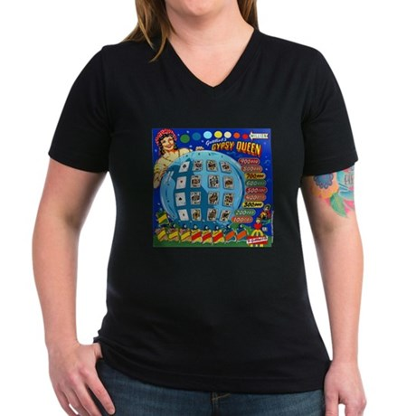 "Gottlieb® ""Gypsy Queen"" Women's V-Neck Dark T-"