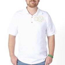 Vowel venn diagram Golf Shirt