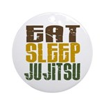 Eat Sleep Ju Jitsu Ornament (Round)