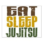 Eat Sleep Ju Jitsu Small Poster