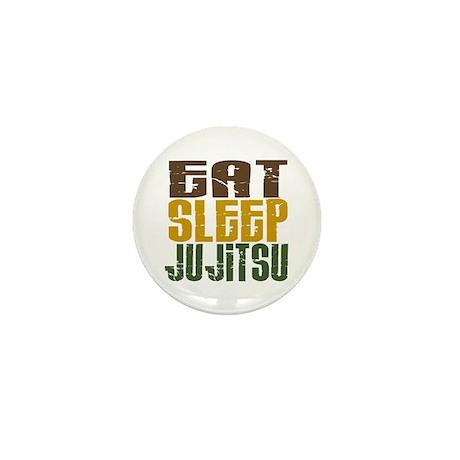 Eat Sleep Ju Jitsu Mini Button (100 pack)