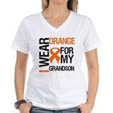 I Wear Orange Grandson Shirt