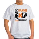 I Wear Orange Grandson T-Shirt