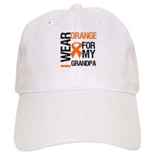 I Wear Orange For My Grandpa Hat
