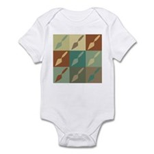 Archaeology Pop Art Infant Bodysuit
