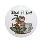 Zoo Ornament (Round)