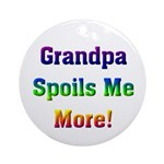 Grandpa Ornament (Round)