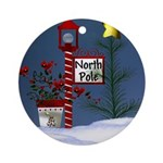 North Pole Ornament