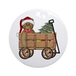 Wagon Ornament