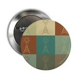 "Amateur Radio Pop Art 2.25"" Button (100 pack)"