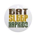 Eat Sleep Hapkido Ornament (Round)