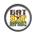 Eat Sleep Hapkido Wall Clock
