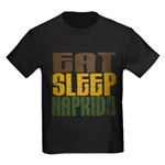 Eat Sleep Hapkido Kids Dark T-Shirt