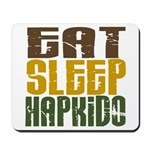 Eat Sleep Hapkido Mousepad
