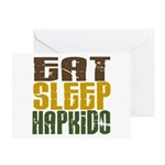Eat Sleep Hapkido Greeting Card
