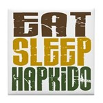 Eat Sleep Hapkido Tile Coaster