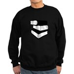 Stack Of Black Books Sweatshirt (dark)