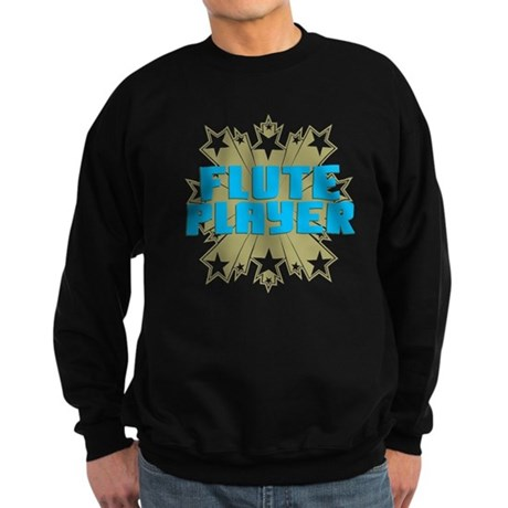Star Flute Player Sweatshirt (dark)