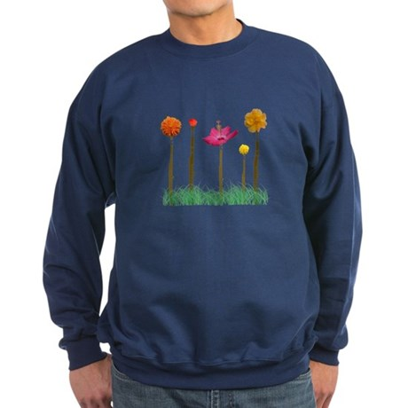 Flute Flowers Sweatshirt (dark)