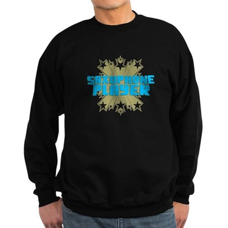 Star Saxophone Sweatshirt (dark)