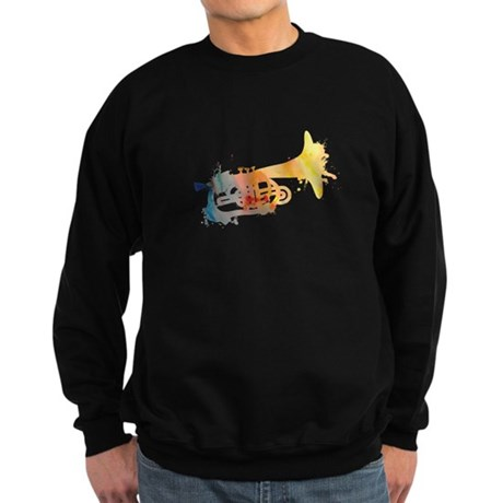 Paint Splat Mellophone Sweatshirt (dark)