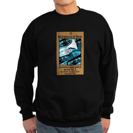 Mellophones of Doom Sweatshirt (dark)