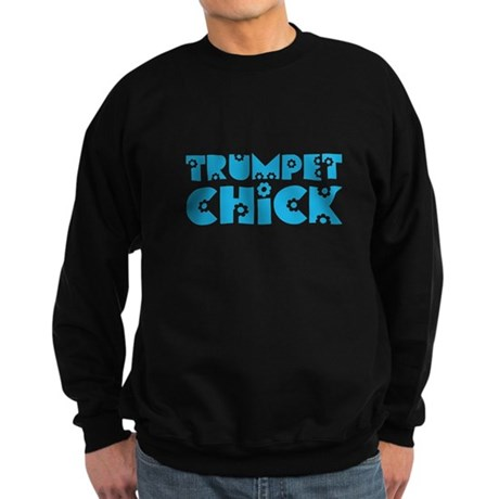 Trumpet Chick Sweatshirt (dark)