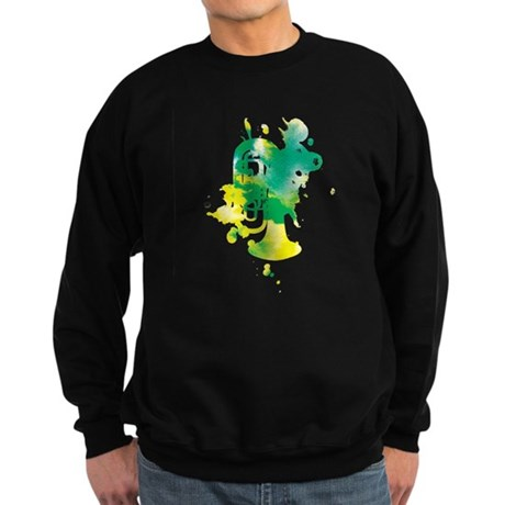 Paint Splat Tuba Sweatshirt (dark)