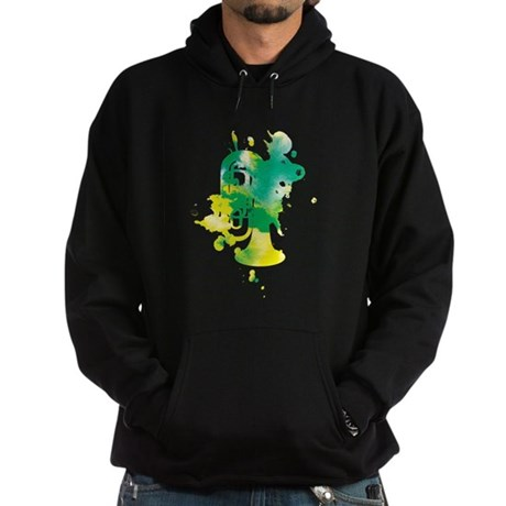 Paint Splat Tuba Hoodie (dark)