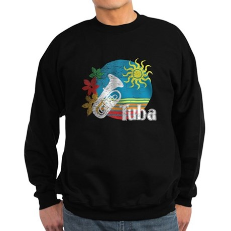 Hawaiian Tuba Sweatshirt (dark)