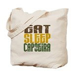 Eat Sleep Capoeira Tote Bag