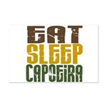 Eat Sleep Capoeira Mini Poster Print