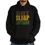 Eat Sleep Capoeira Hoodie (dark)