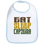 Eat Sleep Capoeira Bib