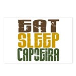 Eat Sleep Capoeira Postcards (Package of 8)