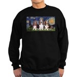 Starry Basset Sweatshirt (dark)