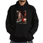 The Accolade & Basset Hoodie (dark)