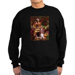 The Path & Basset Sweatshirt (dark)