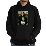 Mona / Bearded Collie Hoodie (dark)