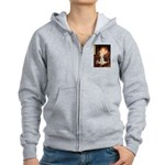 Queen / Bedlington T Women's Zip Hoodie