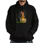Fairies /Belgian Sheepdog Hoodie (dark)