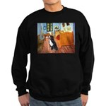 A Room with a Bernese Sweatshirt (dark)