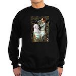 Ophelia & Bichon Sweatshirt (dark)