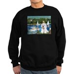 Sailboats (1) Sweatshirt (dark)