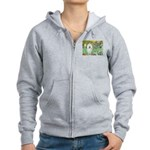 Irises & Bolognese Women's Zip Hoodie