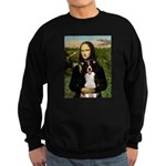 Mona & Border Collie Sweatshirt (dark)