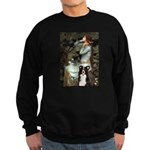 Ophelia & Border Collie Sweatshirt (dark)
