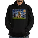 Starry Night / Border Terrier Hoodie (dark)