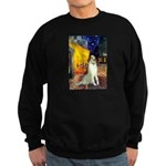 Terrace Cafe & Borzoi Sweatshirt (dark)